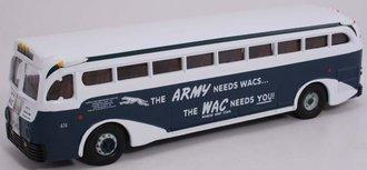 """1:50 GM 743 Bus """"Army/WAC - Greyhound"""""""