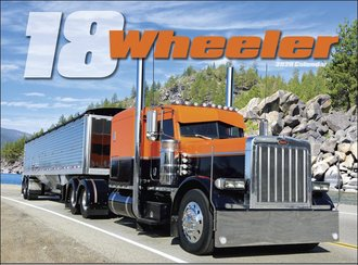 2020 Calendar - Tractor Trailer 18-Wheelers