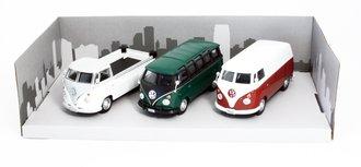 Classic VW Samba Bus (Set of 3)