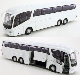 1:50 Scania Irizar Coach Bus (White)