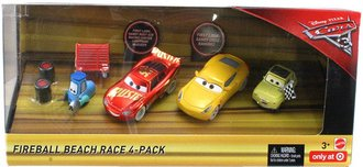 Cars 3 - Fireball Beach Race (4-Pack)