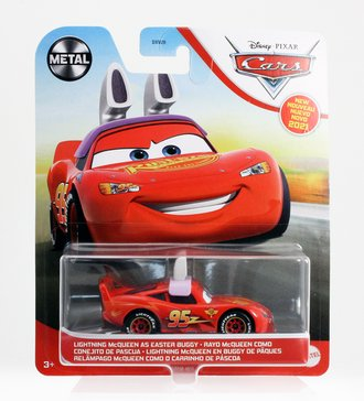 Cars 2021 - Lightning McQueen as Easter Bunny