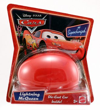Easter Egg (Diecast Car Inside) - Lightning McQueen