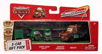 Mater & Pitties 3-Car Gift Pack