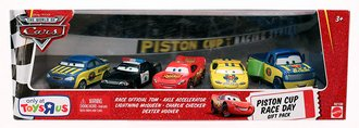 Piston Cup Race Day Gift Pack Set of 5