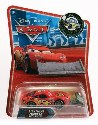 Lightning McQueen w/Shovel