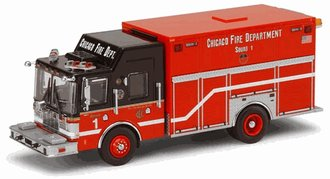 1:64 Chicago Fire Department Squad Company 1