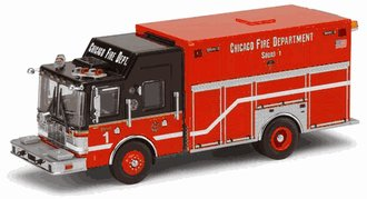 1:64 Chicago Fire Department Squad Company 2