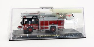 1:64 Chicago Fire Department Squad Company 2A Snorkel