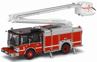 1:64 Chicago Fire Department Squad Company 5A Snorkel