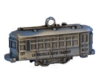 Lionel Ornament - Trolley (Pewter)