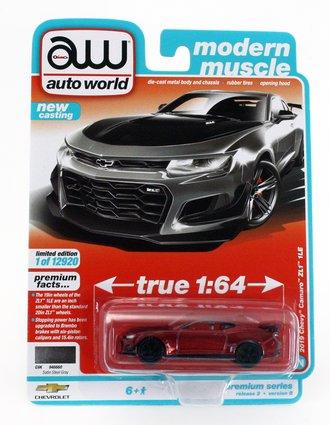 Chase 1:64 2019 Chevrolet Camaro ZL1 1LE (Version B) ***Ultra Red Chrome Version***