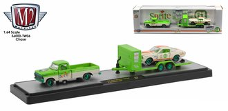 """Chase 1:64 Coca-Cola 1967 Ford F-100 Custom Cab Truck & 1965 Shelby GT 350R """"Sprite"""""""