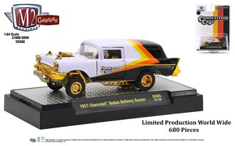 """Chase 1:64 1957 Chevrolet Sedan Delivery Gasser """"Comp Cams"""""""