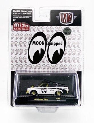 """Chase 1:64 Auto Trucks 1974 Datsun 620 Pickup Truck """"Mooneyes"""" w/Surf Board"""