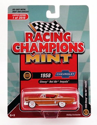 Chase 1:64 1958 Chevy Impala Hardtop *** Corner Damage ***