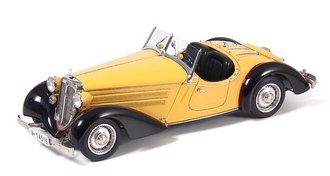 1935 Audi 225 Front Roadster (Black/Yellow) L.E. 4,000