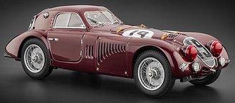 Alfa Romeo 8C 2900B, #19, 1938 Le Mans, Lim Ed. 3,000 pcs
