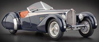 1938 Bugatti 57 SC Corsica Roadster (Lim Alligator)