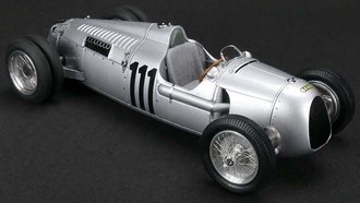 Auto Union Type C 1937 German Hillclimb, #111 Struck