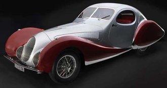 "Talbot T150C Teardrop ""Fiagoni et Falaschi"" (Silver/Red)"
