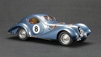 Talbot T150C Teardrop, Maroon, Fiagoni et Falaschi, #8 1939 Le Mans