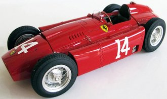 Ferrari-Lancia D50, 1956 French Grand Prix, Collins #14