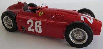 Ferrari-Lancia D50, 1956 Monza Grand Prix, Collins/Fangio #26