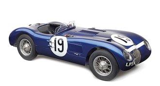 "1954 Jaguar C-Type ""Ecurie Ecosse #19, Stewart/Sandersson"" (Blue)"