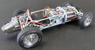 Lancia D50, 1954-55 Rolling Chassis