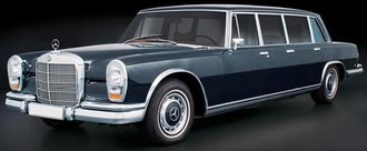 Mecedes-Benz 600 (W100) Pullman Limousine (Long Chassis)