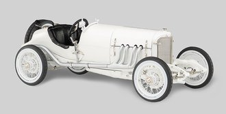 1924 Mercedes Benz Targa Florio (White)