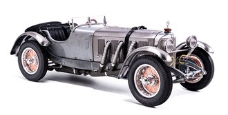 1930 Mercedes-Benz SSK (Clear Finish) (Showcase Included)