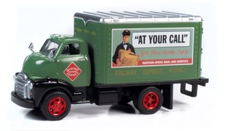 "1948 Box Truck ""Railway Express Agency"" (Dark Green)"