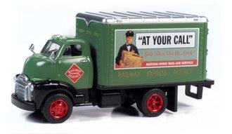 "1948 Box Truck ""Railway Express Agency"" (Dark Green)"