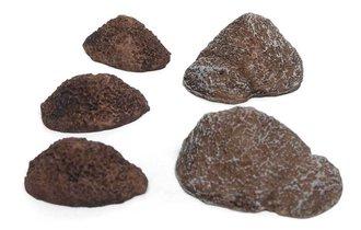 1:87 Dirt/Gravel Piles (Grey/Brown)