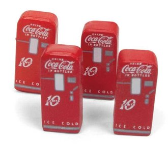 "1:87 1950's Era Vending Machines ""Coca-Cola"""