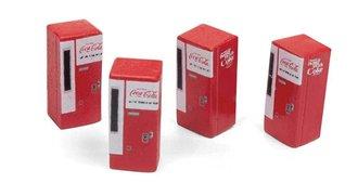 """1:87 1960's Era Vending Machines """"Coca-Cola"""""""