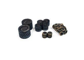 1:87 Tire Scrap Pile (Black)