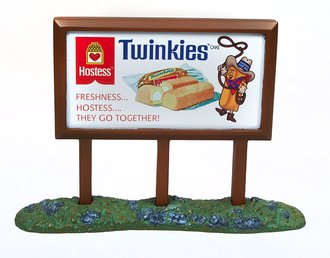 "1950's Country Billboard ""Hostess"""