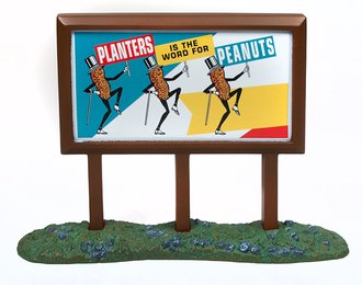 "1950's Country Billboard ""Planters Peanuts"""