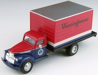 "1:87 1941-46 Chevy Box Trucks ""Westinghouse"""