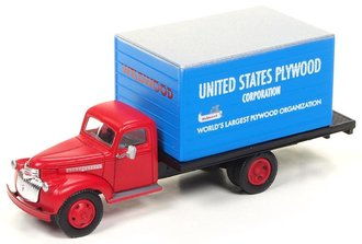 "1:87 1941-46 Chevy Box Truck ""US Plywood"""