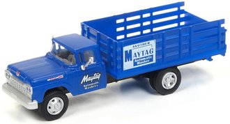 """1:87 1960 Ford Stake Bed Truck """"Maytag Washers"""""""