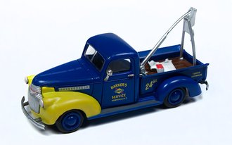 "1941-1946 Chevy Tow Truck ""Sunoco"" (Blue/Yellow)"
