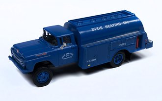 "1:87 1960 Ford Tank Truck ""Dixie Gas Corp"" (Blue)"