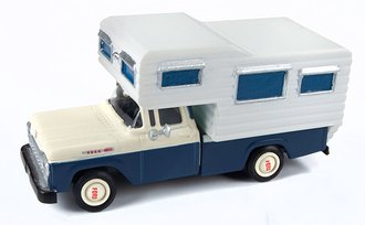 1:87 1960 Ford Camper Truck (Academy Blue/White)