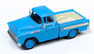 1957 Chevy Cameo (Alpine Blue)