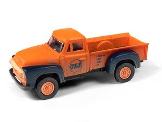 """1954 Ford Pickup """"Gulf Oil"""" (Orange/Dark Blue)"""