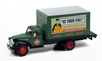 "1941-1946 Chevy Box Truck ""Railway Express Company"" (Dark Green)"